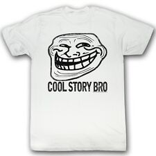Troll Face You Mad? Cool Story Bro Internet Meme Licensed Tee Shirt Sizes S-2XL
