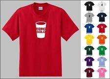 Riding Solo Solo Cup All Alone Lonely Loner Plastic Cup Funny T-shirt