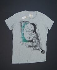 DIESEL Men T-Lincoln Crew-neck T-Shirts Grays NEW NWT $55