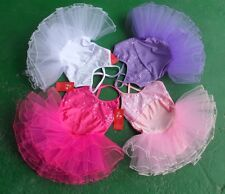 New 4color Girls Ballet Costume Tutu Skirt Gymnastics Leotard Dance Dress SZ 5-8