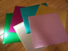 AC Specialty Foil Cardstock - Curdoroy in various colors