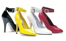 Ellie Shoes 5inch high heel pump with ankle straps up to size 14