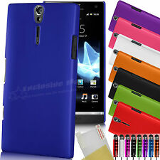 NUOVO HARD BACK CASE COVER SONY XPERIA S LT26i FREE SCREEN PROTECTOR