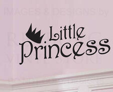 Wall Decal Sticker Quote Vinyl Lettering Little Princess Baby Girl's Room K72