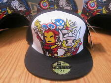 Tokidoki New Era Hat Marvel Heroes Rock Marvel Comics NWT