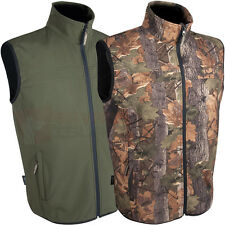 Jack Pyke Waterproof Soft Shell Hunting/Fishing Gilet Shooting Vest Jacket