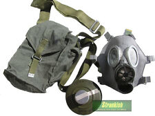 POLAND POLISH ARMY MC-1 GAS MASK KIT & CAMO BAG