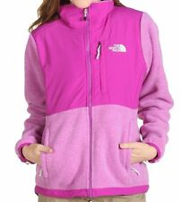 The North Face Womens Denali Jacket Fleece Coat Magenta Heather S-XL NEW
