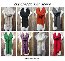 Classic Knitted or Knit Scarf - Crochet & Knit - 2012 to 2013 Season
