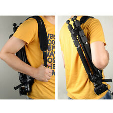 Pro Neoprene TRIPOD SHOULDER STRAP Easy Belt Rubber Bottom Comfortable Wide Pad