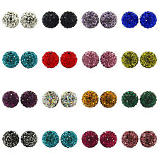 Premium SHAMBALLA Clay Crystal Disco Ball BEADS 10mm - For Shamballa Bracelets