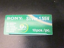 Sony Silver oxide watch battery 317 SR516SW Choose quantity 1,5 or 10