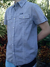 SQUARE ONE SQ1. A Billabong Co. Men's Casual SS Shirt. RRP$59.95. Size S, L & XL
