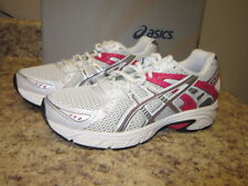 Asics Womens Gel Strike Running Shoe White/Silver/Sorbet New with Box