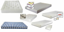 Budget, Luxury Sprung or Memory Foam Mattresses in Single, Double or King Size