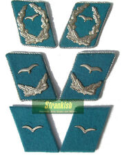 DDR EAST GERMAN AIR FORCE OFFICERS COLLAR BADGES