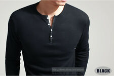 Showtime's Dexter Kill Shirt Mens Henley Tee Long Sleeve T-Shirt Fitted Style