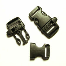 """Whistle Buckles 5/8"""" Side Release Single Adjusting Emergency 550 Paracord"""