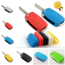 Silicone Protective Key Remote Key Case Shell FOB Cover Most VW Skoda 3 Butttons