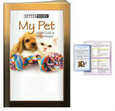 300 NEW Pet Medical History Log Book with Valuable Pet care & Health Information