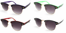 Rare Wayfarer Clubmaster Men's Women's Fashion Designer SUNGLASSES Vintage Retro