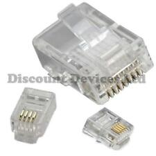 Phone/Computer/PC/Modem/Connectors/4P4C/6P4C/8P8C/RJ9/RJ11/RJ45/CAT5 Plugs