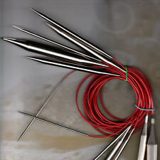 ChiaoGoo RED Lace Circular Knitting Needles BRAND NEW Choose Your Size & Length