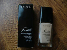 Avon Ideal Flawless Invisible Coverage Liquid Foundation 30ml **NEW** RRP £12