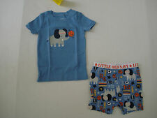 OLD NAVY BOYS Blue Elephant Sports Pajamas Size 12-18 mos,18-24 mos,2T,3T NWT