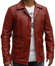 LEATHER NEXT Fight Club Tyler Durden Leather Jacket Replica Brad Pitt IN STOCK