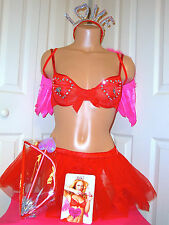 Victoria's Secret Sexy Little Things CUPID Satin Bling Outfit Costume Fantasy