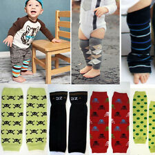 Baby Boys Xmas Arm Leg Warmers Opaque Cotton Baby Toddler Leggings Kids Socks OS