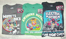Disney Muppets Augmented Reality T-Shirts Sizes S M L XL NWT 3 Styles to Choose