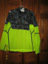 NWT Under Armour Mens Multi-color Polyester Running Jacket w/ Light & Charger