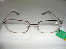 BIFOCAL READING GLASSES CLEAR 1.50 1.75 2.00 2.25 2.50 2.75 SPRING HINGE M/F