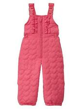 Baby girl Quilted heart overalls GAP new