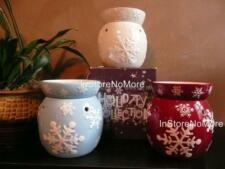 1 Scentsy FULL SIZE Warmer SNOWFLAKE Retired DISCONTINUED Winter Holiday Rare