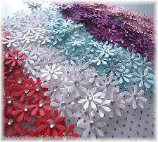 PAPER FLOWER DAISY EMBELLISHMENTS, CARDMAKING TOPPERS , SCRAPBOOKING, CRAFTS ETC