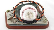 2012 World Series REAL TITANIUM Baseball Necklace San Francisco Giants SF