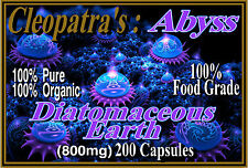 Remove Parasites, Bacteria, Fungi, with Cleopatra's Organic Diatomaceous Earth