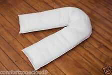 9ft POLYCOTTON COMFORT U PILLOW & PILLOW CASE Maternity/Pregnancy Support NEW!!!