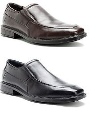 HUSH PUPPIES Shelton Slip-on Leather Loafer Shoe w/Bounce Technology - MSRP $90