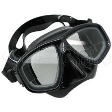 Scuba Black Dive Mask Farsighted Prescription RX Corrective Lenses (Bottom 1/3)