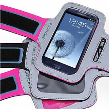SICRON SPORT GYM RUNNING JOGGING ARMBAND POUCH CASE SAMSUNG GALAXY S4/S5/IPHONE5