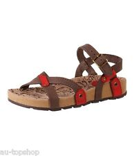 Cheap Discount Brazilian Womens Comfort Leather Sandals with Arch Support 22404