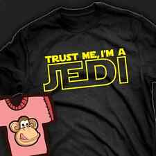 Star Wars inspired. Trust me I'm a Jedi T-shirt - Ladies and Gents Many Colours