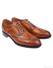Cheaney Men's Arthur III Brogue Shoes – Original Chestnut