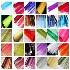 ORGANZA FABRIC DRAPING SWAGS CHAIR BOWS WEDDING TABLE RUNNER SASH VOILE MATERIAL