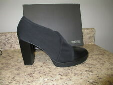 Kenneth Cole Reaction Lead Stretch Ankle Bootie Black New with Box