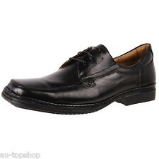 Discount Brazilian Mens Soft Leather Comfortable Dress Lace Up Shoes Fly Black